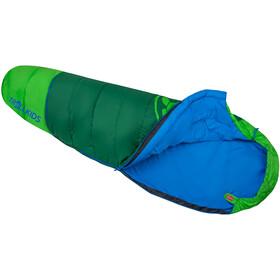 TROLLKIDS Fjell Dreamer Sovepose Kan udvides Børn, grøn